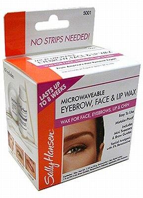 Sally Hansen Eyebrow, Face & Lip Wax, 40 ml wax (4-Pack)