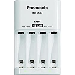 Panasonic eneloop Basic Battery Charger with 2 LED Indicator for AA AAA Ni-MH battery