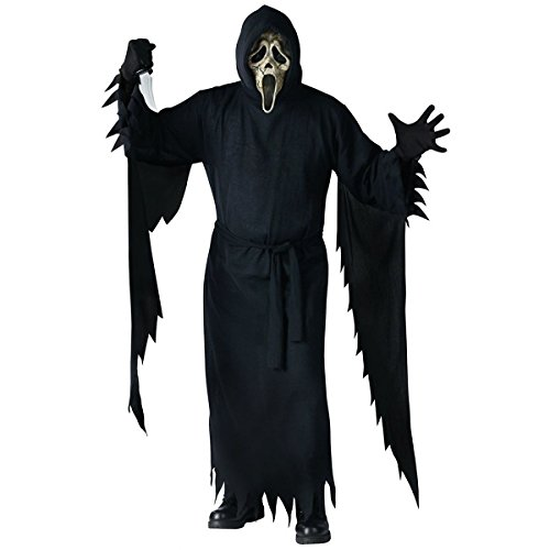 [GSG Collector's Edition Zombie Ghost Face Scream Scary Horror Movie Costume] (Ghost Face Collectors Edition Adult Costumes)