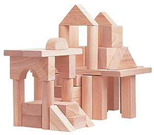 Plan Toy 50-Unit Blocks Set