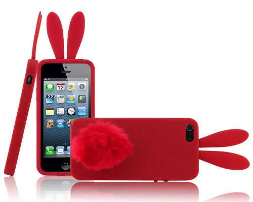 Pink Bunny Iphone 4 Case