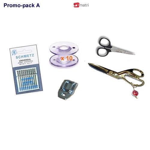 Pack Promo A pour la machine à coudre