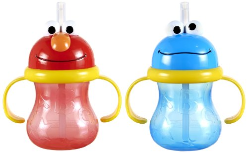 Munchkin Sesame Street Character Cup, 8 Ounce, 2 Count