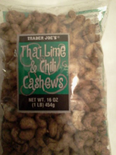 Trader Joe`s Thai Lime and Chili Cashew (6 Pack) (Thai Lime Chili Cashews compare prices)