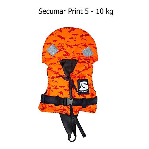 Secumar Rettungsweste Print 100 N 5-10 kg 12402-4
