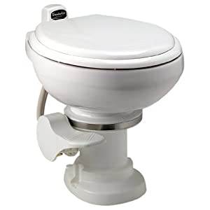 Sealand 302711001 Traveler Lite White Toilet with Spray