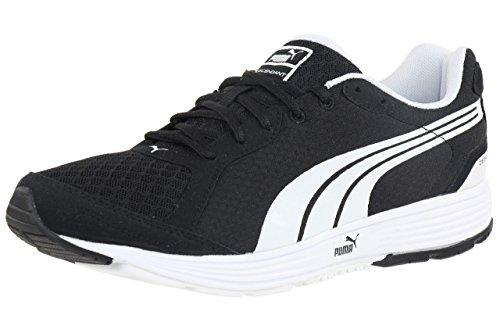 Puma Descendant v1.5 Unisex-Erwachsene Jogging - Lauf - Fitness - Freizeit - Schuhe, Schuhgröße:EUR 42;Farbe:Schwarz - Weiß