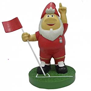 Official Liverpool Fc Corner Flag Garden Gnome by Liverpool FC