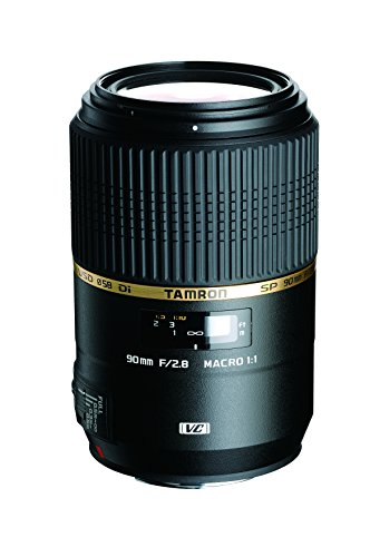 TAMRON 単焦点マクロレンズ SP 90mm F2.8 Di MACRO 1:1 VC USD ニコン用 フルサイズ対応 F004N