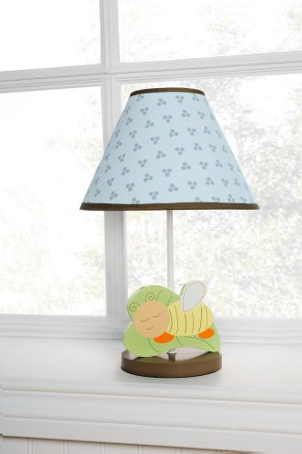 Kids Line Base and Shade, Night Night Bugs (Discontinued by Manufacturer)