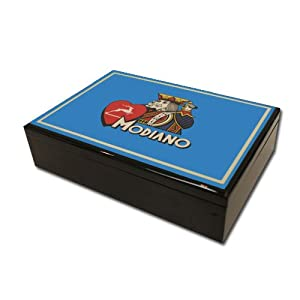 Modiano Hi Gloss Box - Blue
