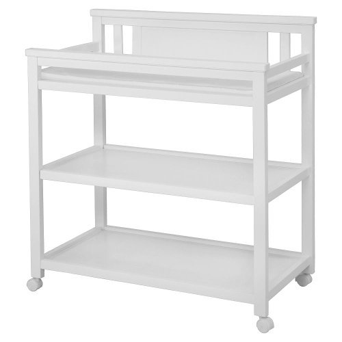Delta Bennington Changing Table - White Ambiance (Delta White Changing Table compare prices)