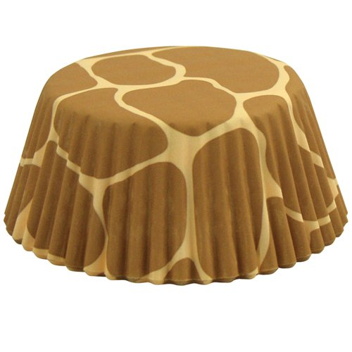 Foxrun Giraffe Standard Baking Cup, Set of 50