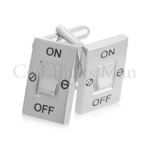 Light Switch Cufflinks-CL-0094
