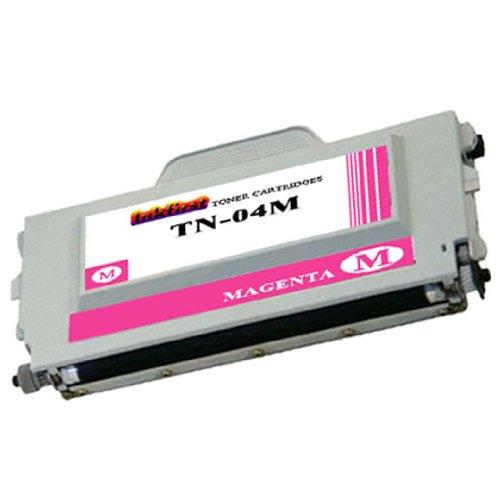 Magenta Toner Cartridge TN04M (TN-04 M) Compatible Remanufactured for Brother TN04 Magenta