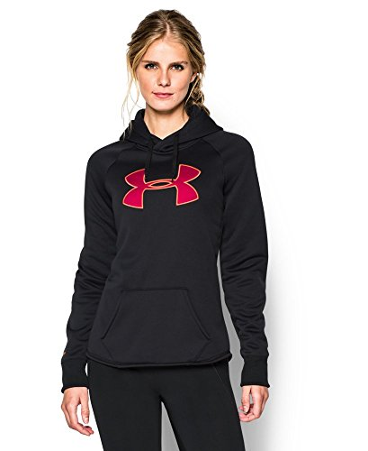 Under Armour Women's UA Storm Armour Fleece Big Logo Hoodie Medium Black