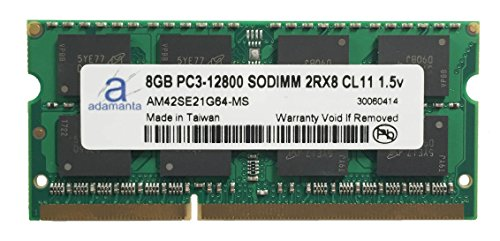 Click to buy Adamanta 8GB (1x8GB) Laptop Memory Upgrade for Toshiba Qosmio X870 DDR3 1600Mhz PC3-12800 SODIMM 2Rx8 CL11 1.5v Notebook DRAM - From only $75.99