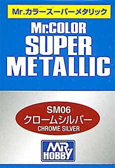 GSI Creos Mr. Color Super Spray 10ml, Metallic Chrome Silver - 1