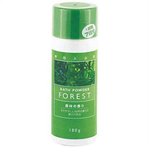 紀陽 薬用入浴剤 森林の香 180g