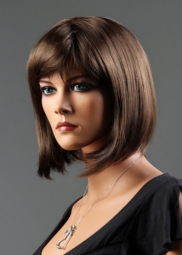 Brand New Short Female Wig Synthetic Hair For Ladies Personal Use Or Mannequin Display