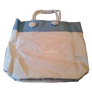 D&G Light Blue Beach Bag