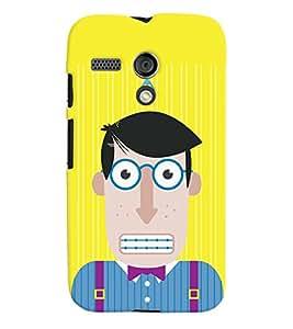 TOUCHNER (TN) Office Boy Back Case Cover for Motorola Moto G X1032::Motorola Moto G (1st Gen)