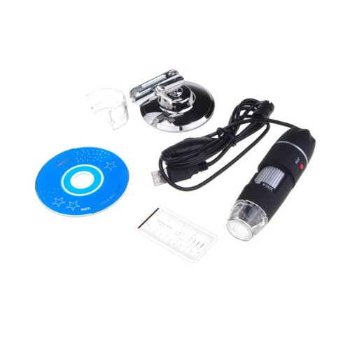 Bestdealusa Practical 2Mp Usb 8 Led Digital Microscope Endoscope Magnifier 500X