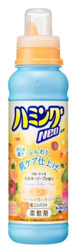 ハミングNeo 柔軟剤 シルキーソープの香り 本体 400ml