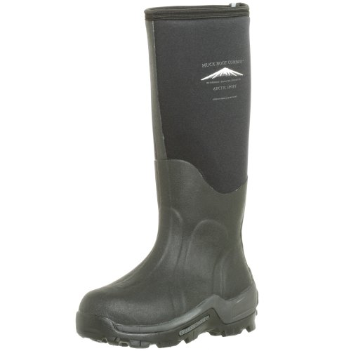 The Original MuckBoots Adult Arctic Sport Boot,Black,Men's 11 M/Women's 12 M