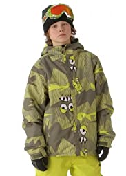 Boys Camotooth Insulated Jacket (Army)