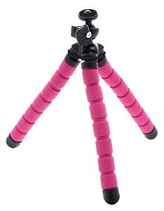 KitVision Small Monkee Grip Flexible Foam Tripod for Camera - Pink