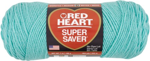 Red Heart Super Saver Economy Yarn, Aruba Sea