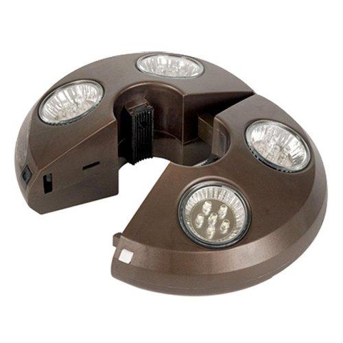 swim time 4 light rechargeable led umbrella light by. Black Bedroom Furniture Sets. Home Design Ideas