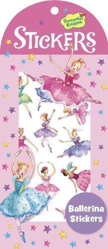 Peaceable Kingdom Ballerina Sticker Pack