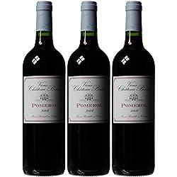 Pomerol Vieux Chateau Brun Bordeaux 2008 75 cl (Case of 3)