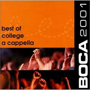 Various Artists - Boca 2001: Best Of College A Cappella