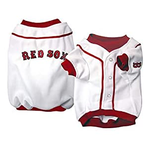 Click to buy Boston Red Sox Logo Merchandise: Red Sox Dog Shirt from Amazon!