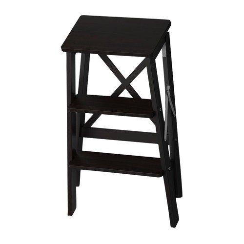 IKEA bekväm - escalera 3 peldaños negro - 63 cm