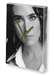 JENNIFER CONNELLY - Canvas Clock (LARGE A3 - Signed by the Artist) #js001