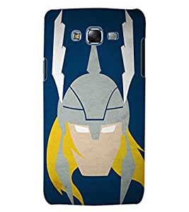 ColourCraft Warrior Look Design Back Case Cover for SAMSUNG GALAXY J5