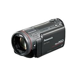 Panasonic デジタルハイビジョンビデオカメラ TM750 内蔵メモリー96GB メタリックグレー HDC-TM750-H