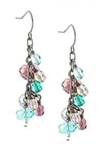Imagine Jewelry Champagne USA made Earrings