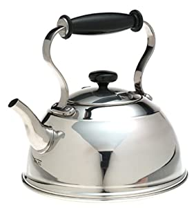 Copco Cambridge Stainless-Steel Teakettle by Copco