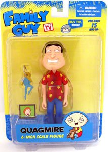 Picture of Mezco Family Guy Classic Figure Series 3 Quagmire (B005EN2LLE) (Mezco Action Figures)