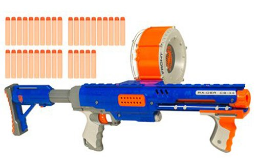 Hasbro Nerf Nstrike Raider Rapid Fire CS-35