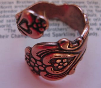 Adjustable Copper Ring #1795C3