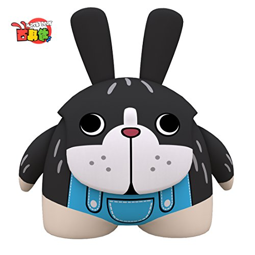 iNewcow MASK BEAR Chinese Zodiac Cute Animal Dog Originality Dolls Car Decorations Gift For Kids 6*5.5*3.8CM (Dog)