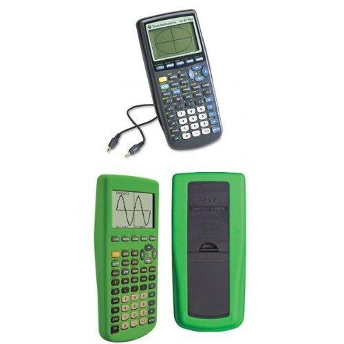 Texas Instruments TI-83 Plus Graphing Calculator with Guerrilla Silicone Case (Green) (Math Calculator Ti 83 compare prices)