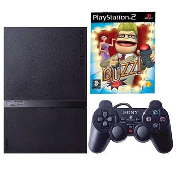 PlayStation 2 Bundle (Inc. PS2 Console  &  Buzz!) (PS2)