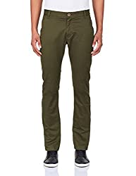 Being Human Men's Casual Trousers (8903861261493_BHNDC6030_34W x 33L_Green)